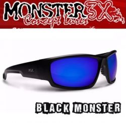 Óculos Polarizado Black Monster 3X