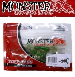 Isca Soft Bullet Crab 8cm Monster 3X