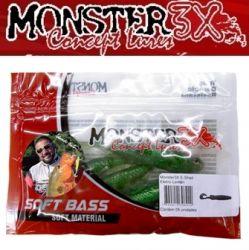 Isca Soft E-Shad 9cm Monster 3X