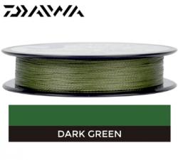 Linha Multifilamento Daiwa J-Braid 4x 20lb 0,21mm 135m  Verde Escuro