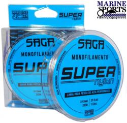 Linha Monofilamento SAGA Marine Sports 0,40mm 300m Cinza