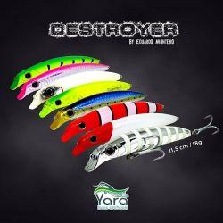 Isca Yara Destroyer 11,5cm by Eduardo Monteiro