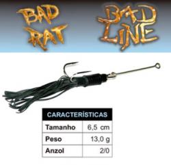 Isca Bad Line Bad Rat - 6,5cm 13g - NOVAS CORES