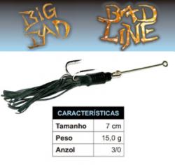 Isca Bad Line Big Bad - 7cm 15g - NOVAS CORES