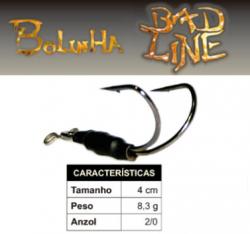 Isca Bad Line Bolinha - 4cm  - NOVAS CORES