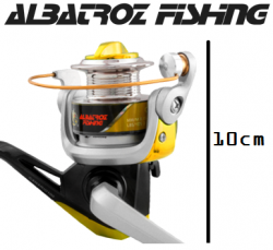 Molinete Albatroz Fishing Canário 100 Amarelo