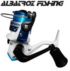 Molinete Albatroz Fishing MP 1000 com linha