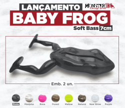 Isca Soft Baby Frog Monster 3X