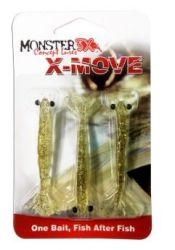 Isca Soft X-Move 9cm | Monster 3X