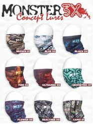Máscara de Proteção Solar Dry Fit Monster 3X