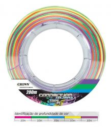 Linha Multifilamento Crown Connection 9X | Colorful