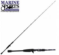 Vara Marine Sports TITAN X Bi-partida 1,83m/25lb | Carretilha