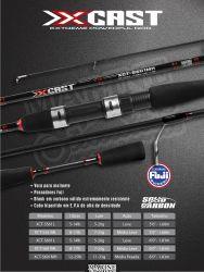 Vara Marine Sports X-CAST Inteiriça 1,68m/17lb | Molinete