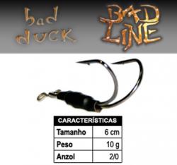 Isca Bad Line Bad Duck - 6cm 10g - NOVAS CORES